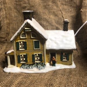 Currier & Ives - American Homestead Winter 2000